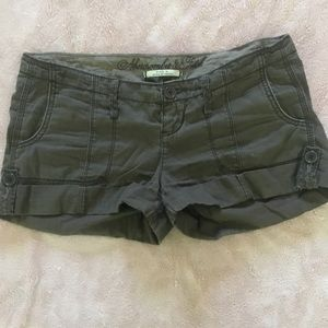 Abercrombie & Fitch brown khaki shorts